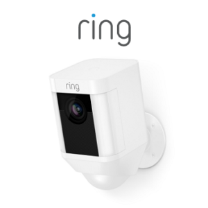 Ring Spotlight Cam White